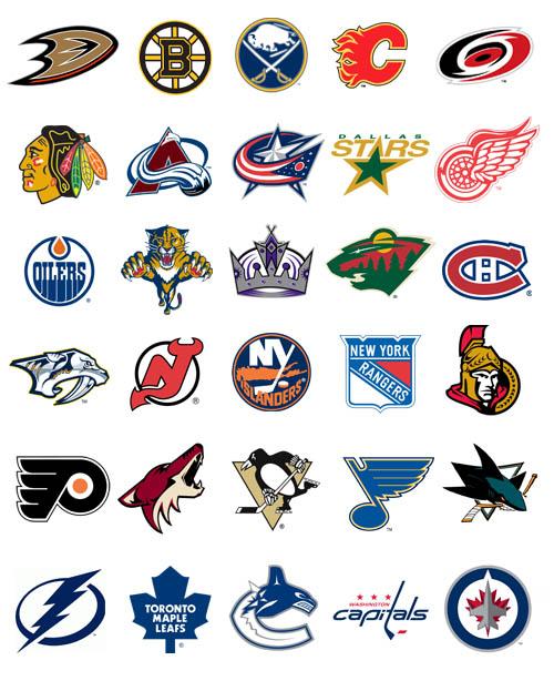 the gallery for gt nhl hockey team logos