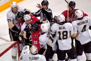Hockey Scrum