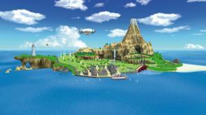 Wii Sports Resort island