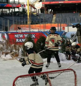 Ryan at the Winter Classic