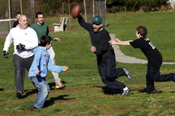 Thanksgiving Family FootballFamily Football