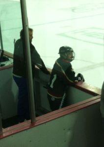 Ryan in the penalty box