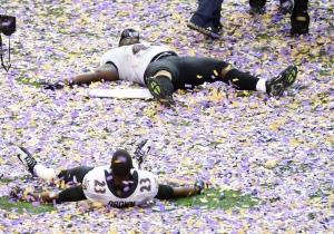 Ravens celebrate