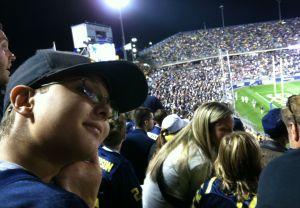 Ryan watches Michigan struggle