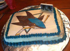 Sharks cake