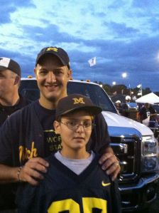 Tailgating with Ryan