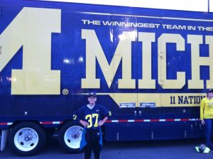 Ryan and the Michigan truck