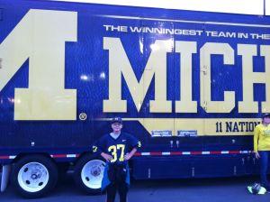 Ryan and the Michigan truck
