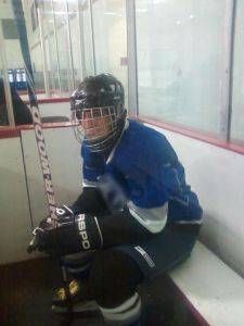 Dad in the sin bin.
