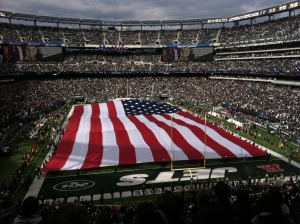 Saints-Jets national anthem