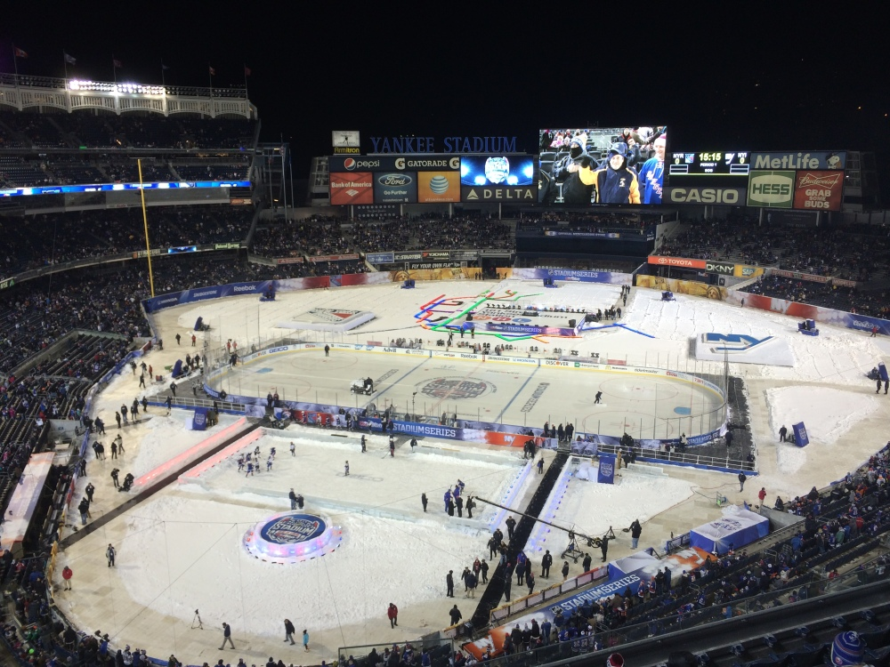 Stadium Series at Yankee Stadium