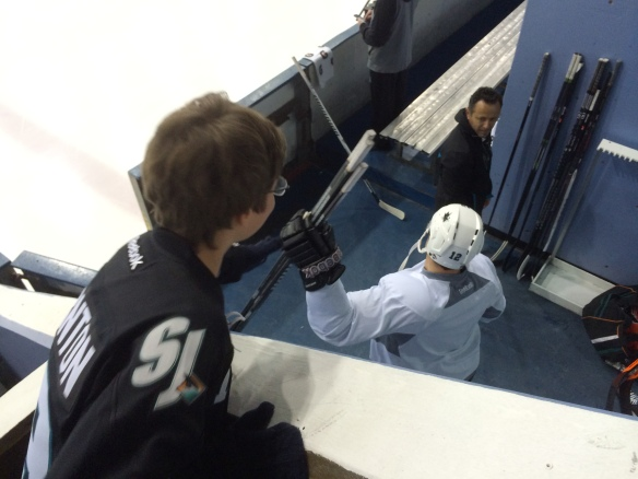 Patrick Marleau high five