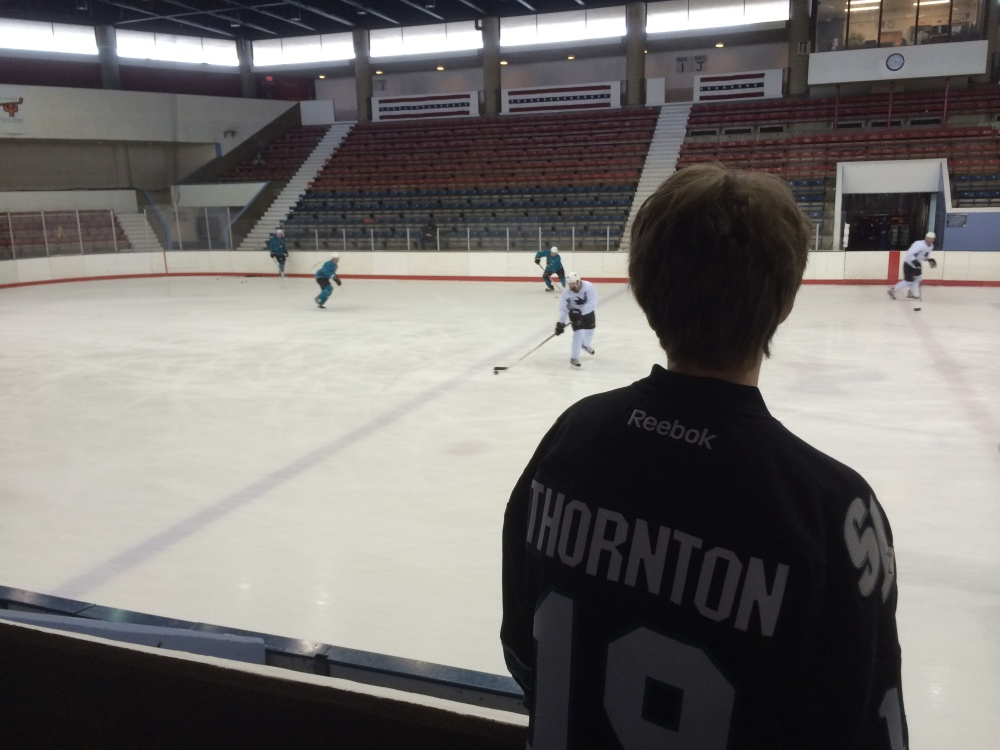 Ryan's Joe Thornton Jersey