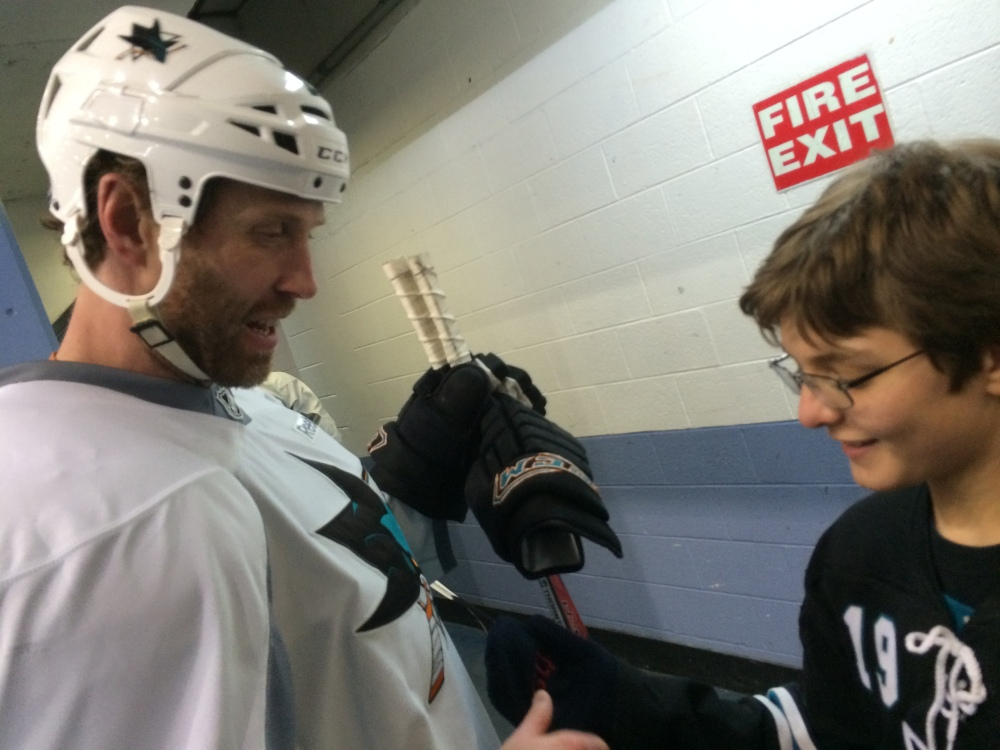Ryan and Joe Thornton