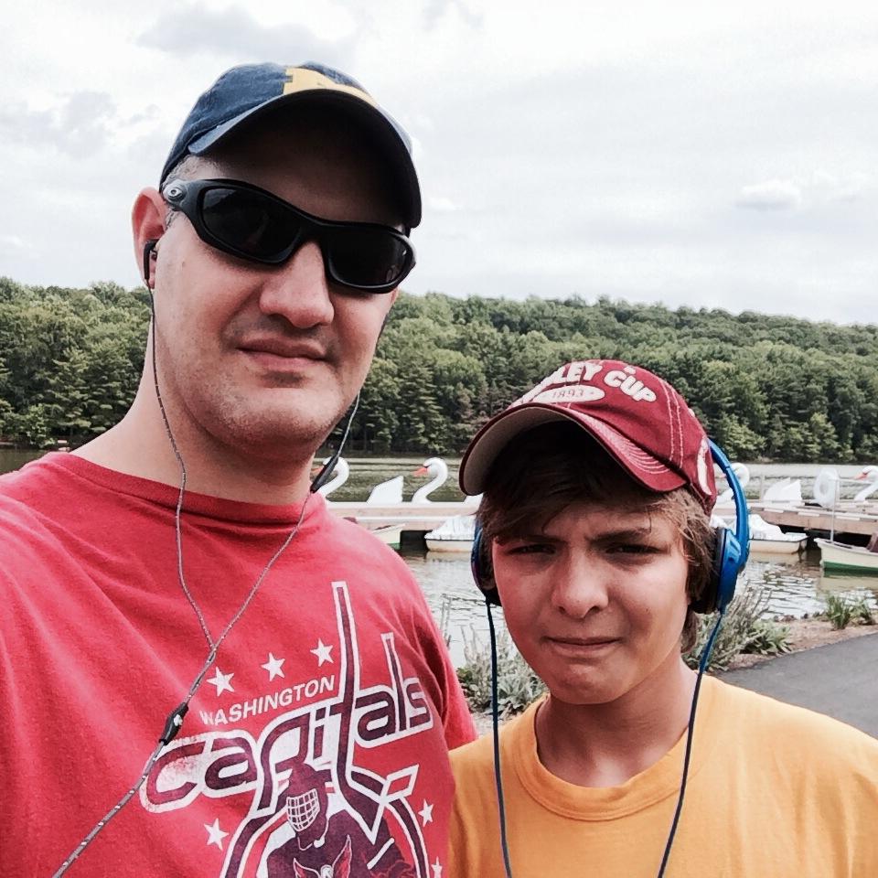 Walking with Ryan