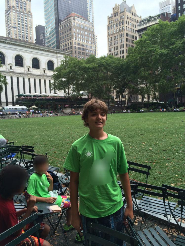 Ryan camp trip to NYC