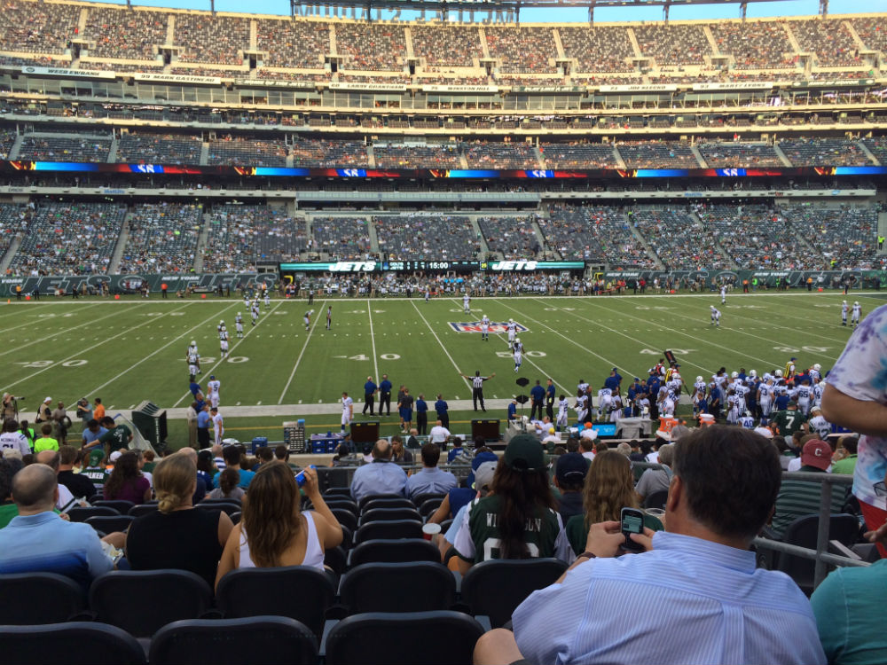 Colts-Jets Kickoff