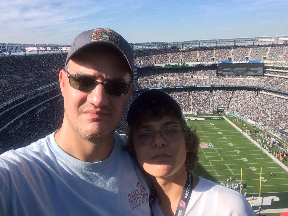 MetLife Stadium Selfie
