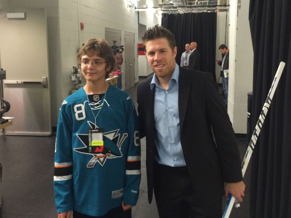 Ryan and Joe Pavelski