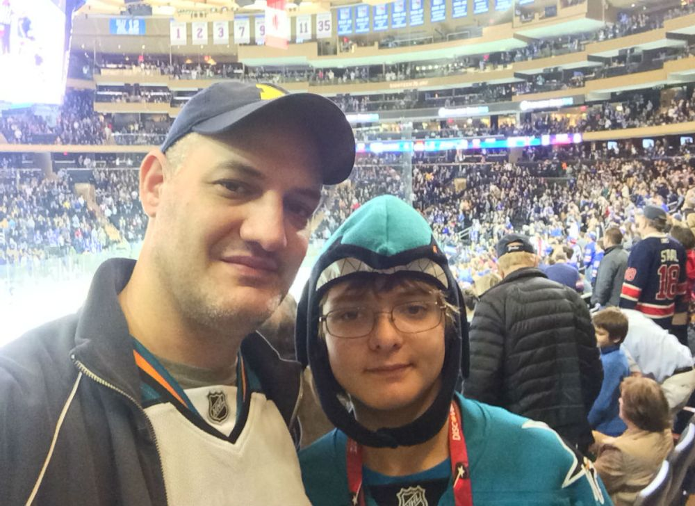 With Ryan at MSG