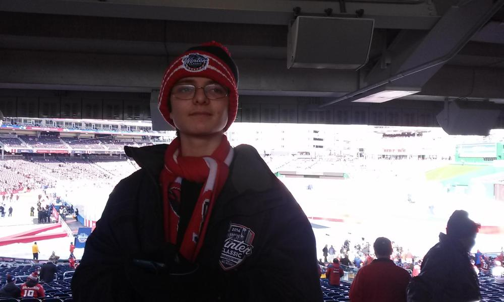 Ryan at the NHL Winter Classic