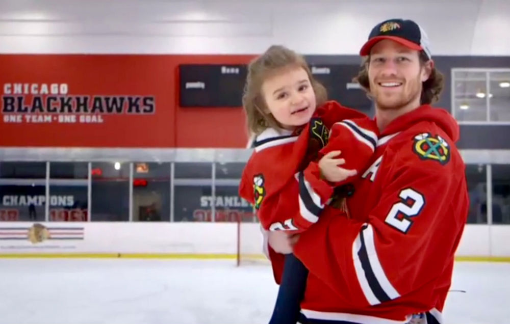 Cammy and Duncan Keith