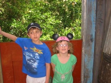 Ryan and Riley at Disney